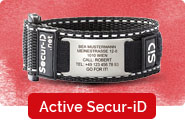 Active Secur-ID Velcro Notfallarmband