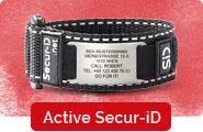 Active Secur-ID Velcro Notfallarmband