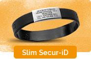 Slim Secur-ID Notfallarmband schmal
