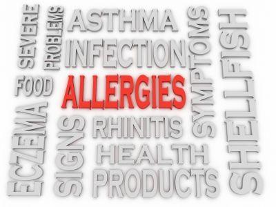 Allergien auf dem Secur-iD Notfallarmband
